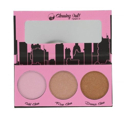 W7 Make-Up Glowing Out Highlighter Kit