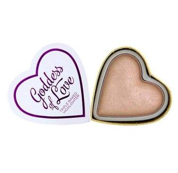 Makeup Revolution Hearts Highlighter - Goddess of Love
