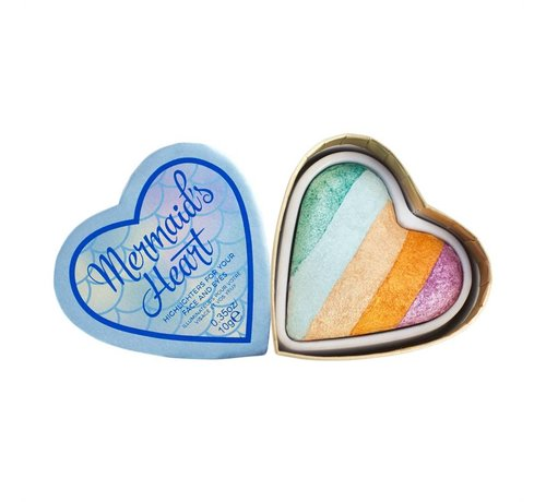 Makeup Revolution Hearts - Mermaid's Heart