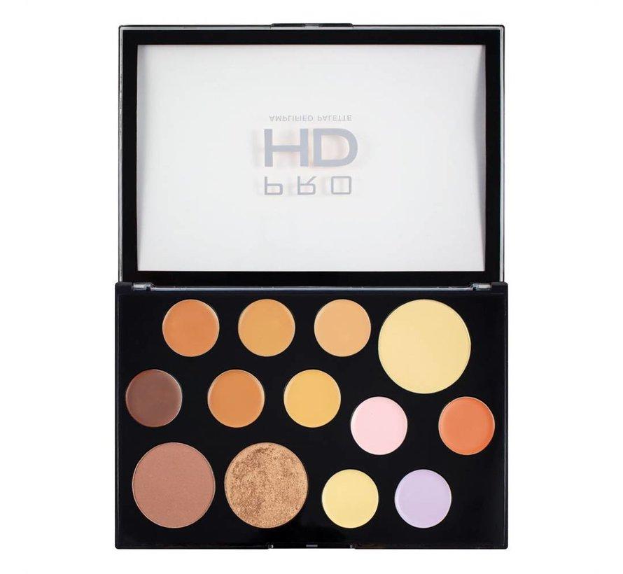 HD Pro Palette The Works - Medium/Dark