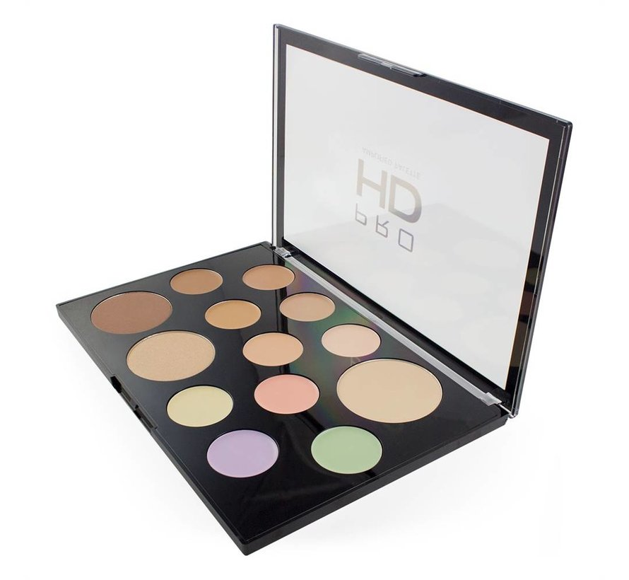 HD Pro Palette The Works - Light/Medium