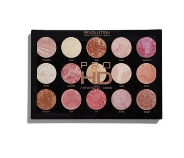 Makeup Revolution HD Pro Amplified Palette - Get Baked