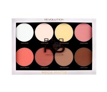Makeup Revolution HD Pro Amplified Palette Mega Matte