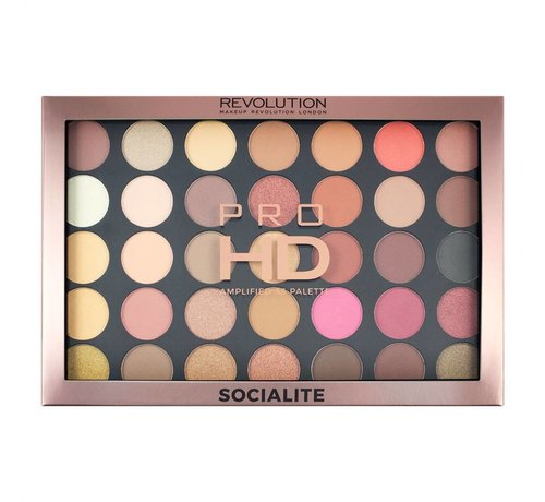 Makeup Revolution Pro HD Palette Amplified - Socialite