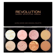 Makeup Revolution Ultra Blush & Contour Palette - Golden Sugar