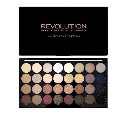 Makeup Revolution Ultra 32 Eyeshadow Palette - Flawless - Oogschaduw