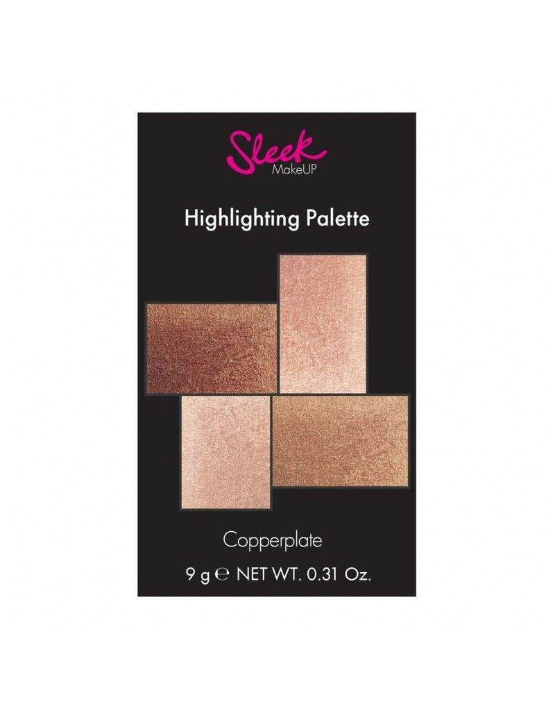 Sleek MakeUP Copperplate Highlighting Palette