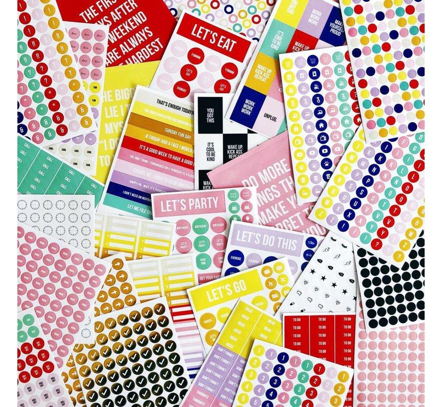 Stick it Stickerbook - Even More Plan Fun