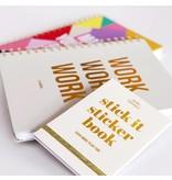Stationery Stick it Stickerbook - Even More Plan Fun