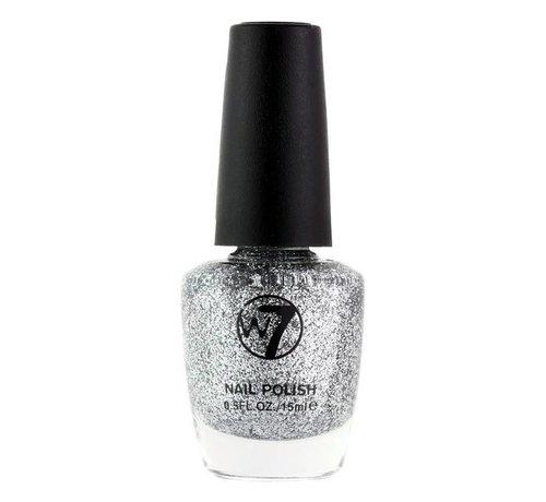 W7 Make-Up - 5 Silver Dazzle - Nagellak