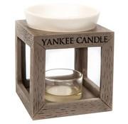 Yankee Candle Rustic Modern Grey Wood Melt Warmer
