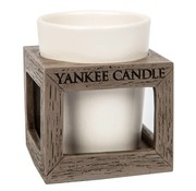 Yankee Candle Rustic Modern Grey Wood Votive Holder