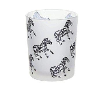 Yankee Candle White Zebra Votive Holder