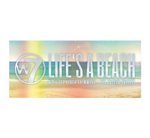 W7 Make-Up Life's A Beach Eyeshadow Palette