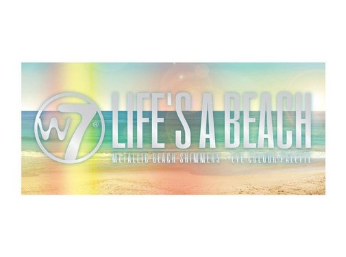 W7 Make-Up Life's A Beach Eyeshadow Palette