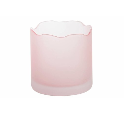 Yankee Candle Tranquillity Wave Pink Votive Holder