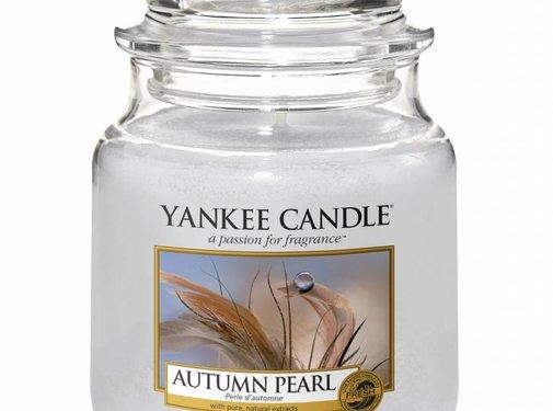 Yankee Candle Autumn Pearl - Medium Jar
