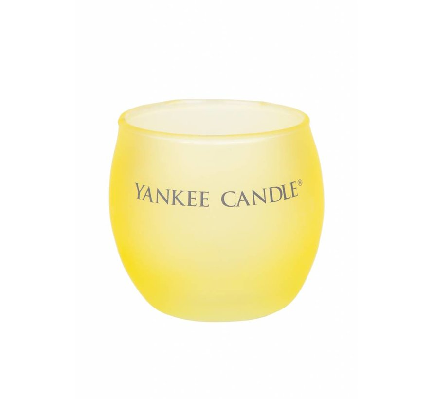 Roly Poly Votive Holder - Yellow