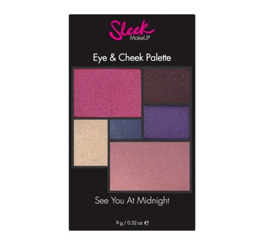 See You At Midnight - Eye & Cheek Palette