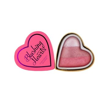 Makeup Revolution Hearts Blusher - Bursting with Love