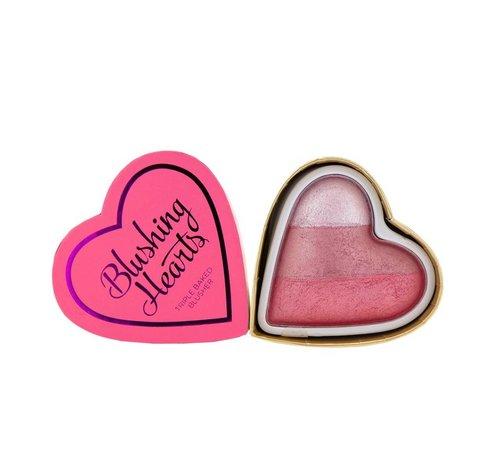 I Heart Revolution Hearts Blusher - Bursting with Love