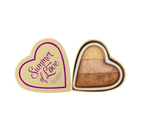 Makeup Revolution Hearts Bronzer - Hot Summer of Love