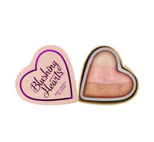 I Heart Revolution Hearts Blusher - Iced Hearts