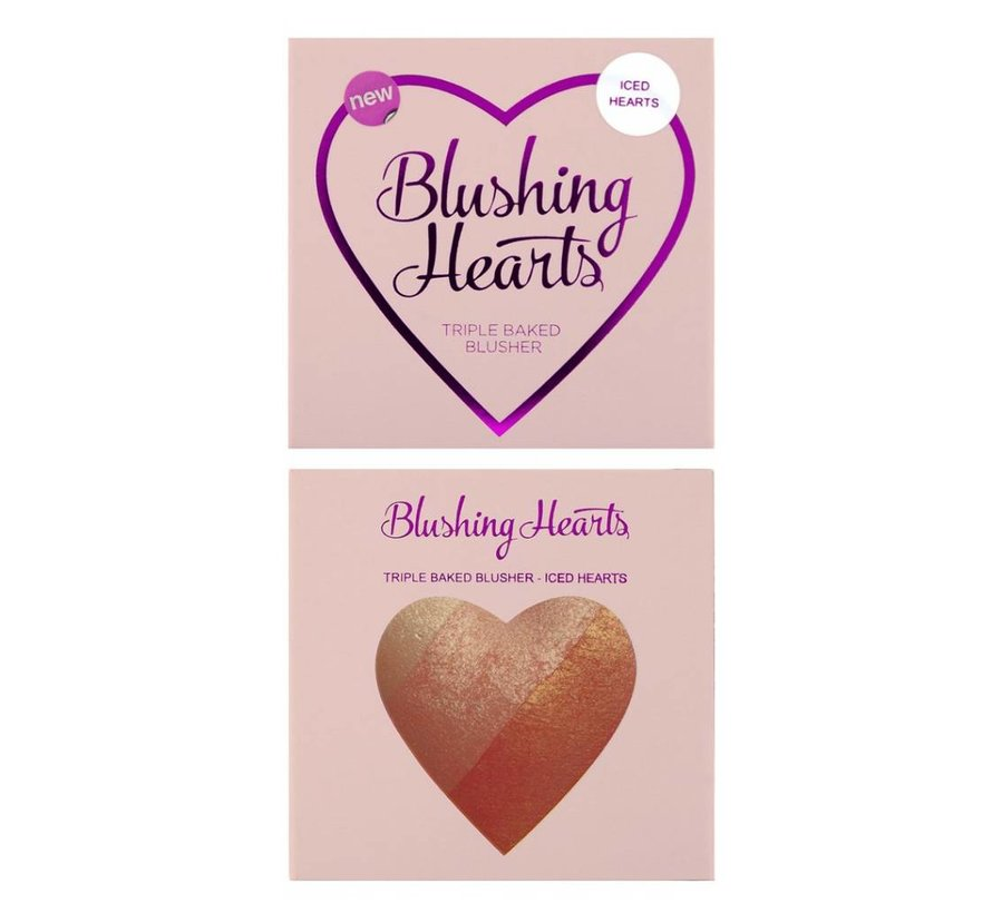 Hearts Blusher - Iced Hearts