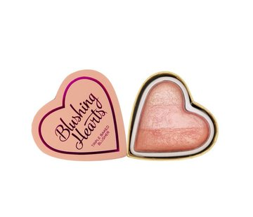 Makeup Revolution Hearts Blusher - Peachy Pink Kisses