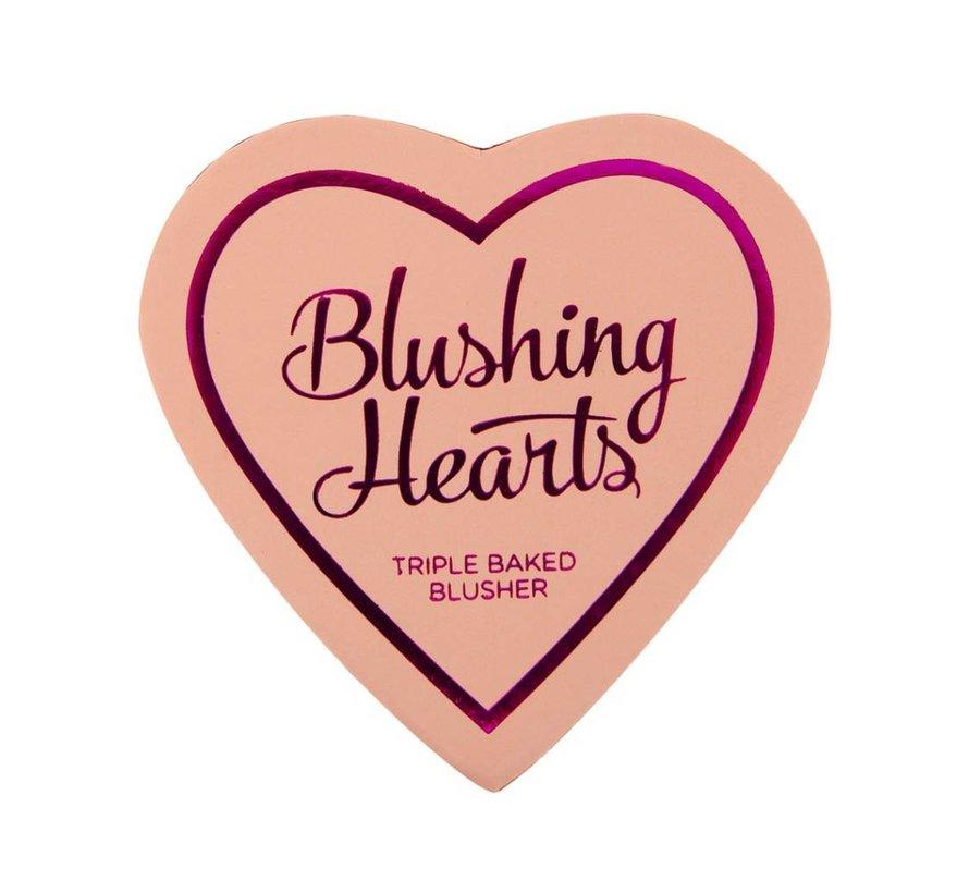 Hearts Blusher - Peachy Pink Kisses