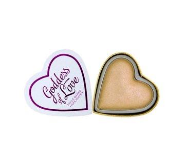I Heart Revolution Hearts Highlighter - Golden Goddess