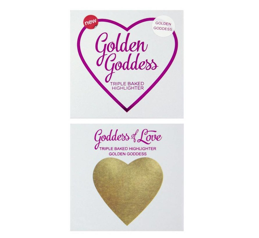 Hearts Highlighter - Golden Goddess