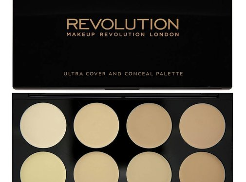 Makeup Revolution Ultra Cover and Concealer Palette - Light