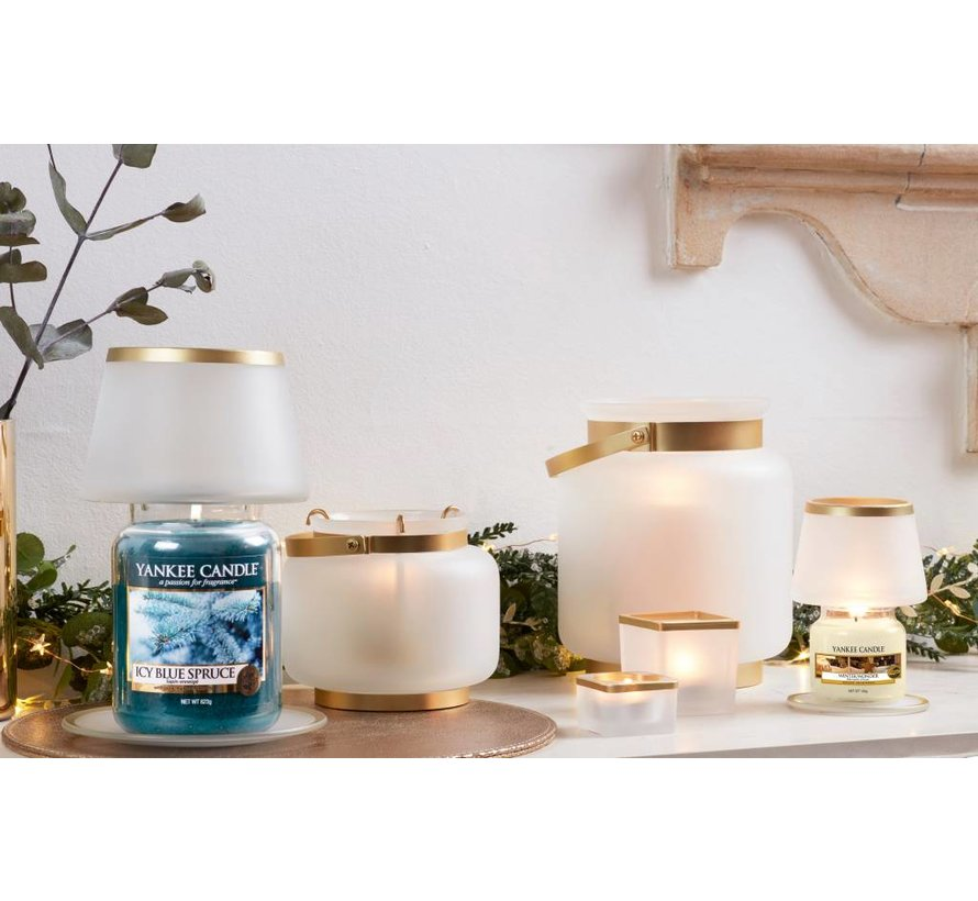 Frosty Votive Holder