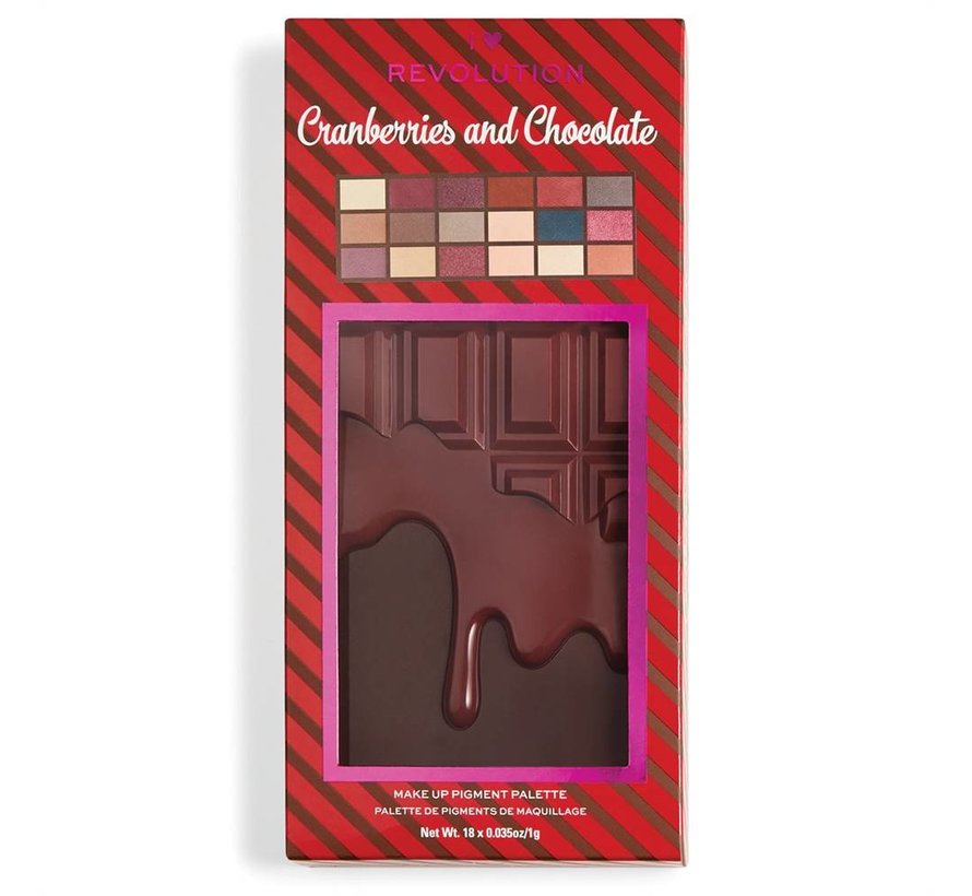 I Heart Chocolate - Cranberries & Chocolate