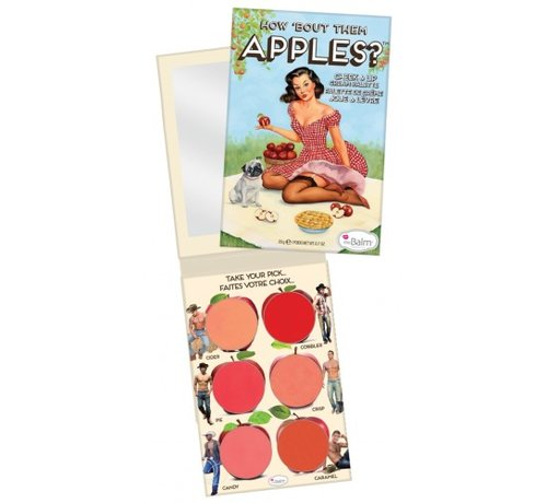 theBalm How 'Bout Them Apples - Palette