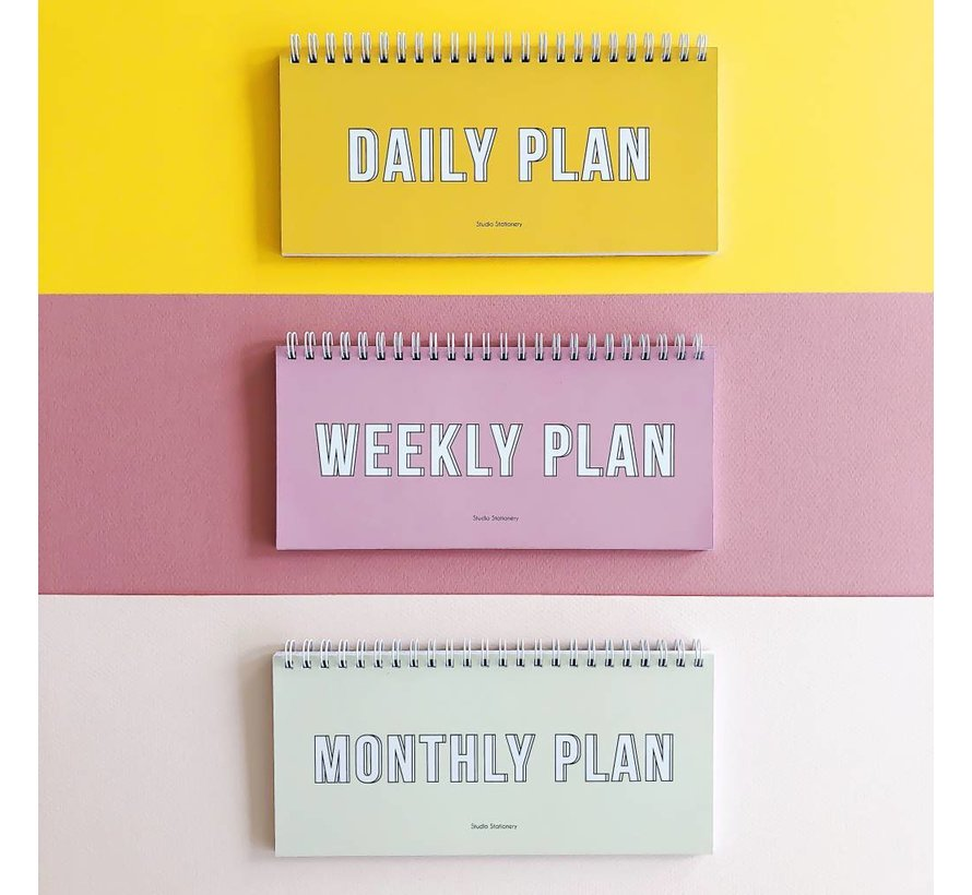 Stationery Notebook - Weekly Plan