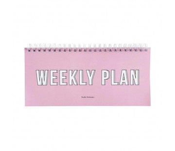 Studio Stationery Notebook - Weekly Plan
