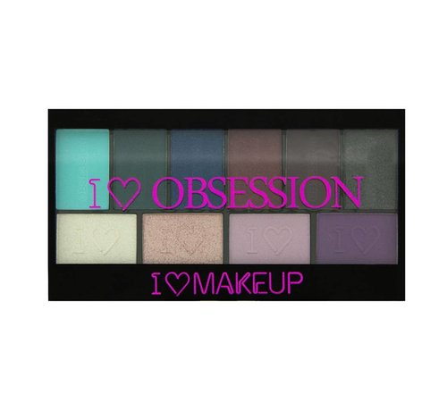Makeup Revolution I Heart Obsession Palette - Wild is the Wind - Oogschaduw