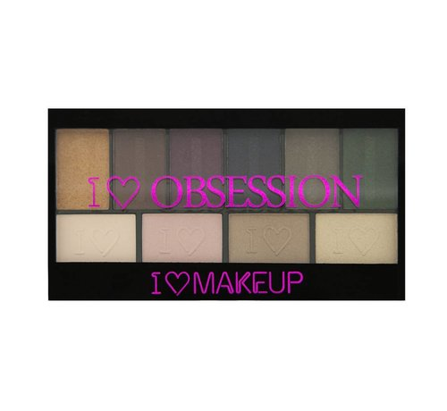 Makeup Revolution I Heart Obsession Palette - West End Girls - Oogschaduw