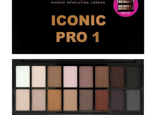 Makeup Revolution Salvation Palette Iconic Pro 1