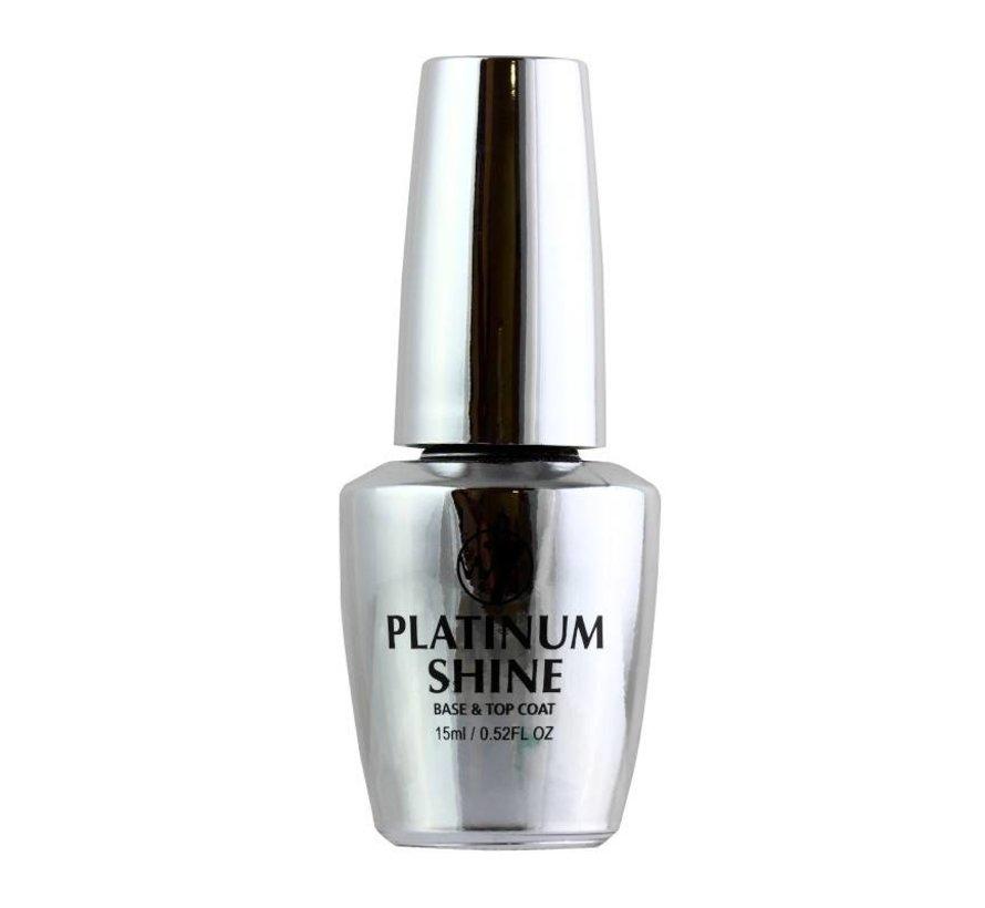 Platinum Shine - 2 in 1 Base & Top Coat