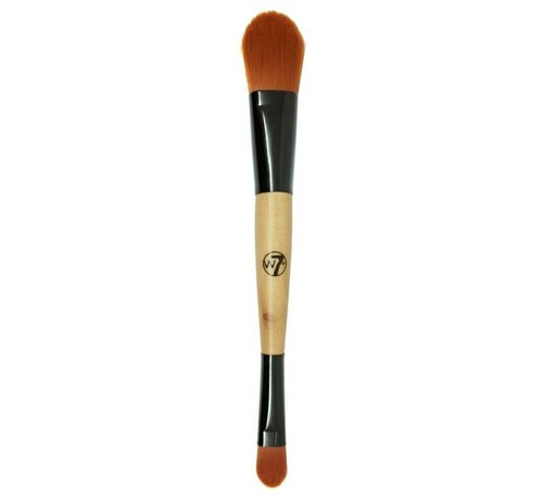 W7 Make-Up Duo Foundation & Concealer Brush