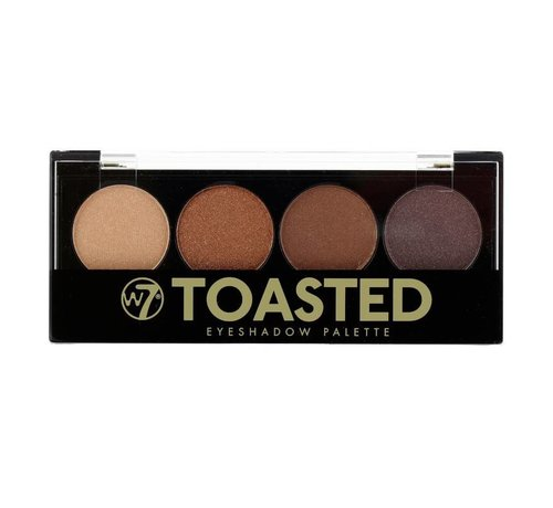 W7 Make-Up Toasted Eyeshadow Palette - Oogschaduw
