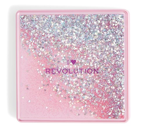 I Heart Revolution One True Love Glitter Palette