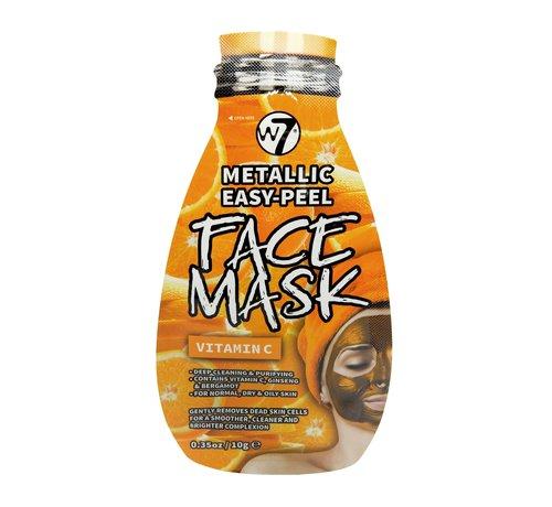 W7 Make-Up Metallic Easy-Peel Vitamin C Face Mask