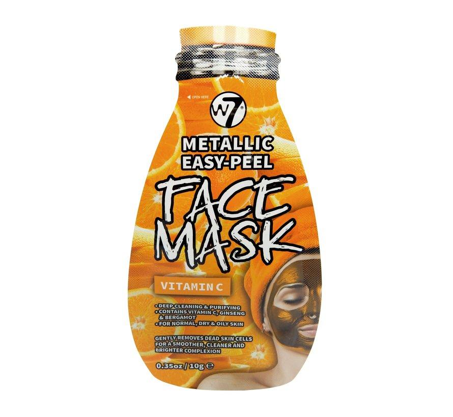 Metallic Easy-Peel Vitamin C Face Mask