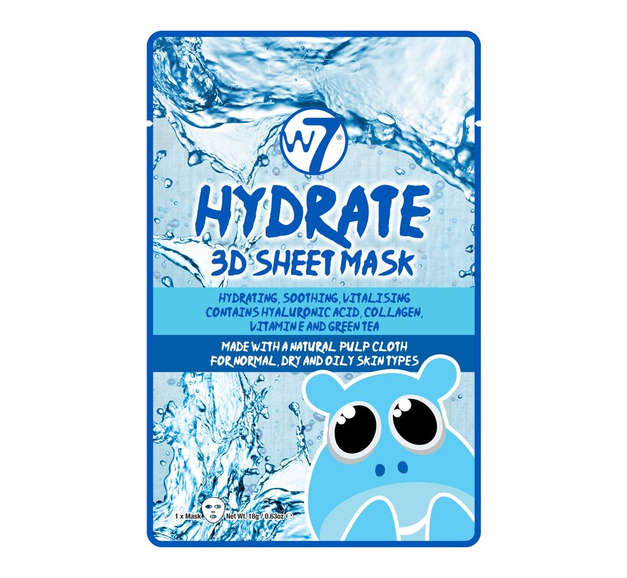 Hydrate 3D Sheet Face Mask