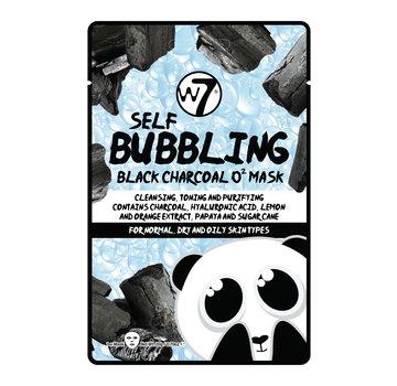 W7 Make-Up Self-Bubbling Black Charcoal O2 Face Mask