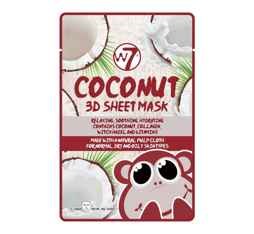 Coconut 3D Sheet Face Mask